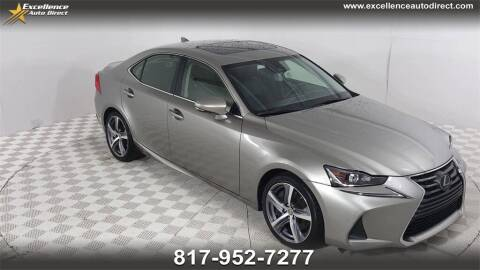 2018 Lexus IS 300 for sale at Excellence Auto Direct in Euless TX