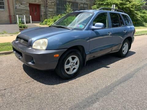 2002 Hyundai Santa Fe for sale at Michaels Used Cars Inc. in East Lansdowne PA