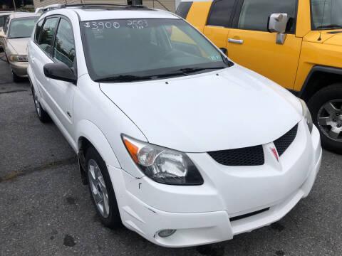 2003 Pontiac Vibe for sale at Matt-N-Az Auto Sales in Allentown PA