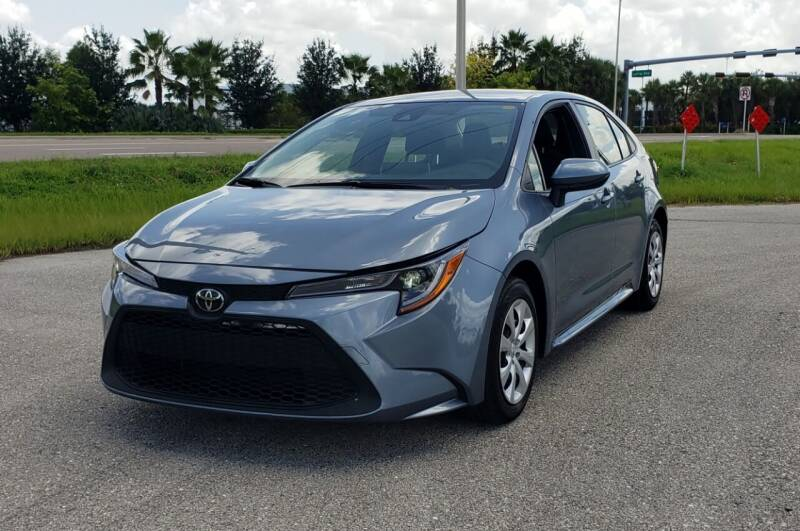 2020 Toyota Corolla for sale at FLORIDA USED CARS INC in Fort Myers FL