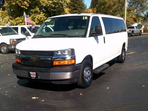 2019 Chevrolet Express Passenger for sale at Stoltz Motors in Troy OH