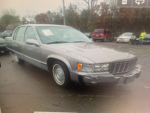 1996 Cadillac Fleetwood for sale at FORD'S AUTO SALES in Houston TX