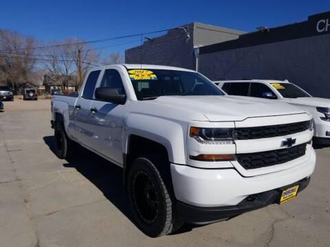 2017 Chevrolet Silverado 1500 for sale at CHURCHILL AUTO SALES in Fallon NV