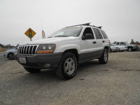 1999 Jeep Grand Cherokee for sale at Mountain Auto in Jackson CA