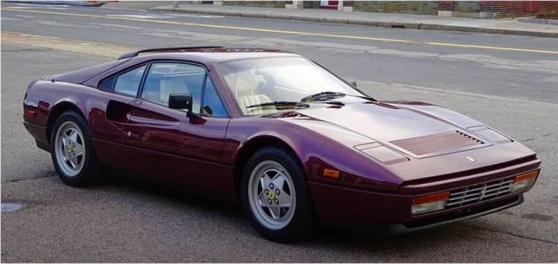 1989 Ferrari 328 GTB for sale at McQueen Classics in Lewes DE
