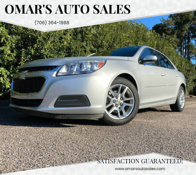 2014 Chevrolet Malibu for sale at Omar's Auto Sales in Martinez GA
