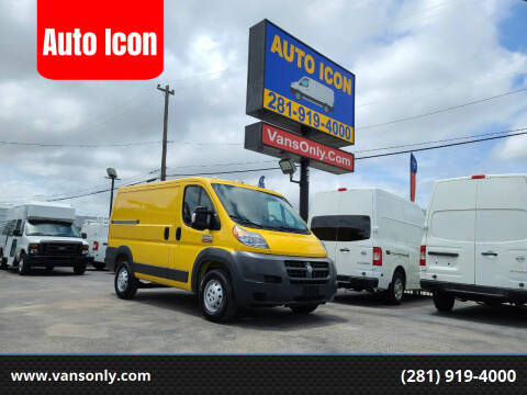 2016 RAM ProMaster Cargo for sale at Auto Icon in Houston TX