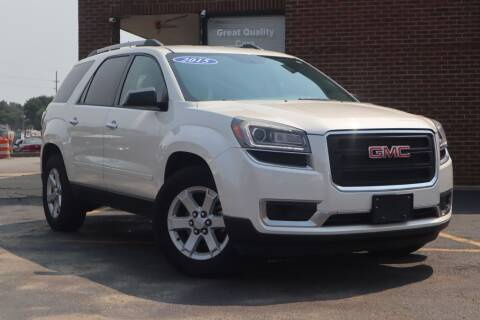 2015 GMC Acadia for sale at Hobart Auto Sales in Hobart IN