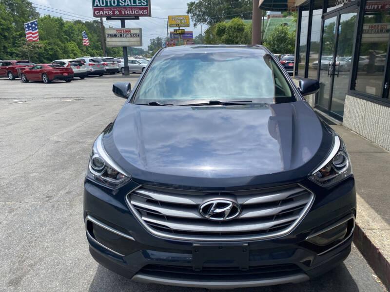 2017 Hyundai Santa Fe Sport for sale at J Franklin Auto Sales in Macon GA