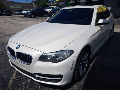 2014 BMW 5 Series for sale at Castle Used Cars in Jacksonville FL