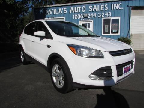 2014 Ford Escape for sale at Avilas Auto Sales Inc in Burien WA