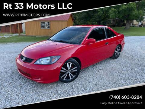 2005 Honda Civic for sale at Rt 33 Motors LLC in Rockbridge OH