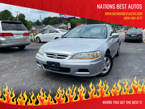2002 Honda Accord for sale at Nations Best Autos in Decatur GA