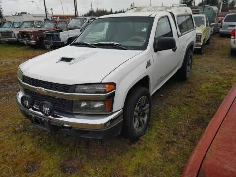 2005 Chevrolet Colorado for sale at JMG MOTORS in Lynden WA