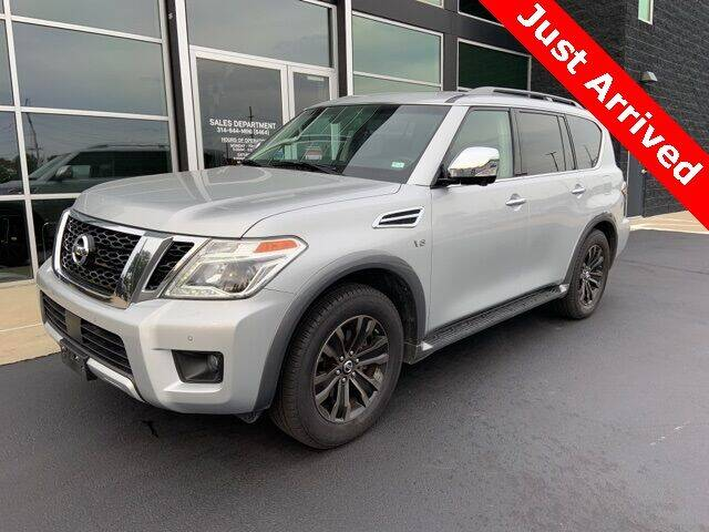2017 Nissan Armada for sale at Autohaus Group of St. Louis MO - 40 Sunnen Drive Lot in Saint Louis MO