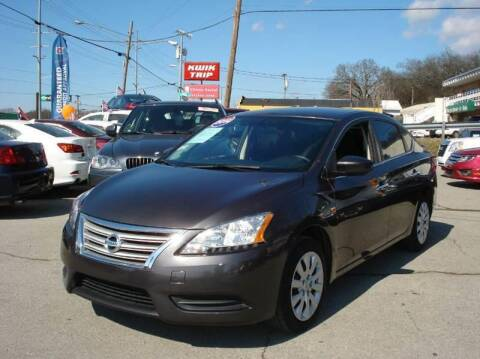 2014 Nissan Sentra for sale at A & A IMPORTS OF TN in Madison TN