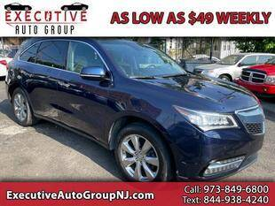2014 Acura MDX for sale at Executive Auto Group in Irvington NJ