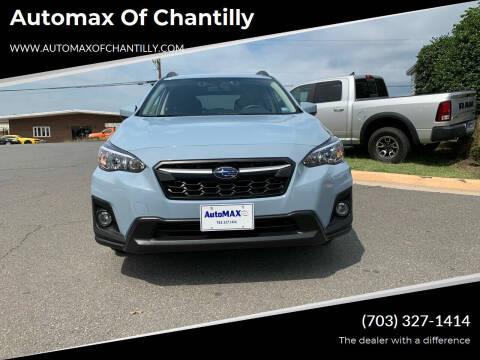 2019 Subaru Crosstrek for sale at Automax of Chantilly in Chantilly VA