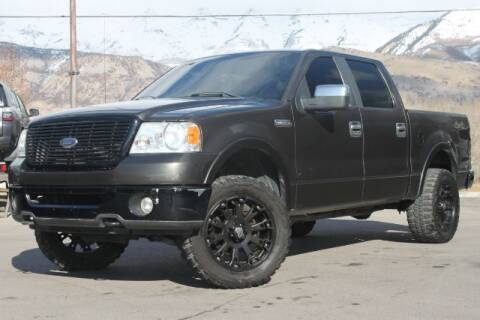 2007 Ford F-150 for sale at REVOLUTIONARY AUTO in Lindon UT