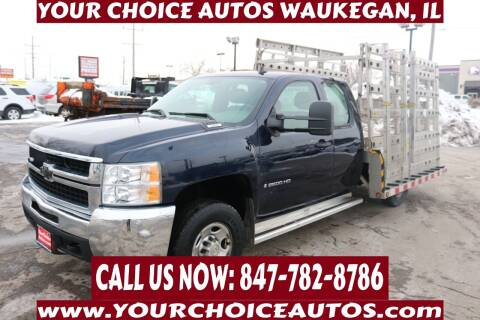 2008 Chevrolet Silverado 2500HD for sale at Your Choice Autos - Waukegan in Waukegan IL