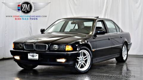 1997 BMW 7 Series for sale at ZONE MOTORS in Addison IL