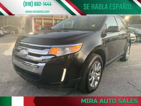2012 Ford Edge for sale at Mira Auto Sales in Raleigh NC