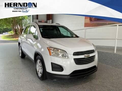 2016 Chevrolet Trax for sale at Herndon Chevrolet in Lexington SC
