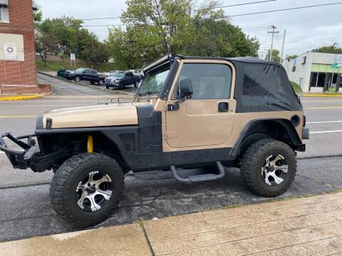 1999 Jeep Wrangler for sale at All American Autos in Kingsport TN