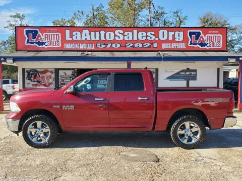 2013 RAM Ram Pickup 1500 for sale at LA Auto Sales in Monroe LA