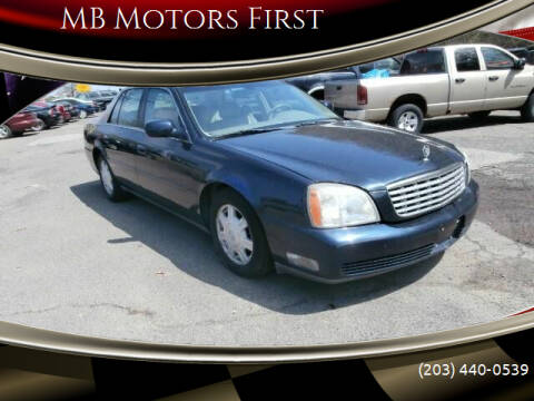 2005 Cadillac DeVille for sale at MB Motors First in Meriden CT