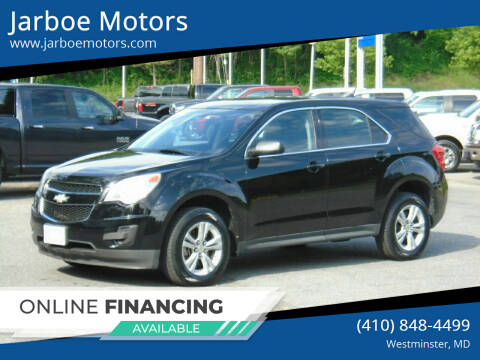 2011 Chevrolet Equinox for sale at Jarboe Motors in Westminster MD