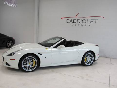 2015 Ferrari California T for sale at Cabriolet Motors in Morrisville NC