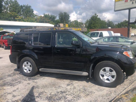 2007 Nissan Pathfinder for sale at BELL AUTO & TRUCK SALES in Fort Wayne IN