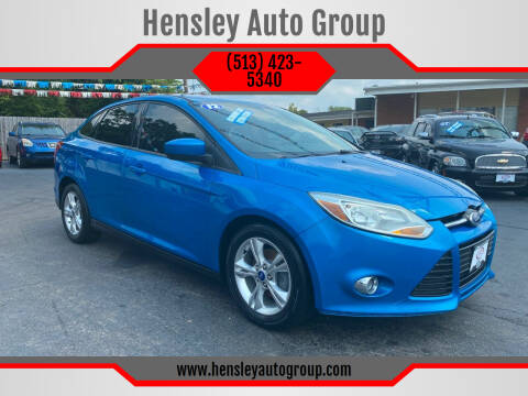 2012 Ford Focus for sale at Hensley Auto Group in Middletown OH