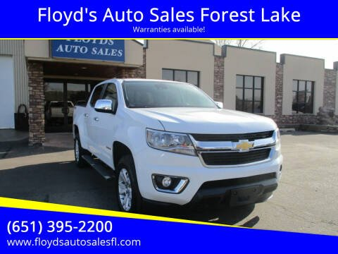 2017 Chevrolet Colorado for sale at Floyd's Auto Sales Forest Lake in Forest Lake MN