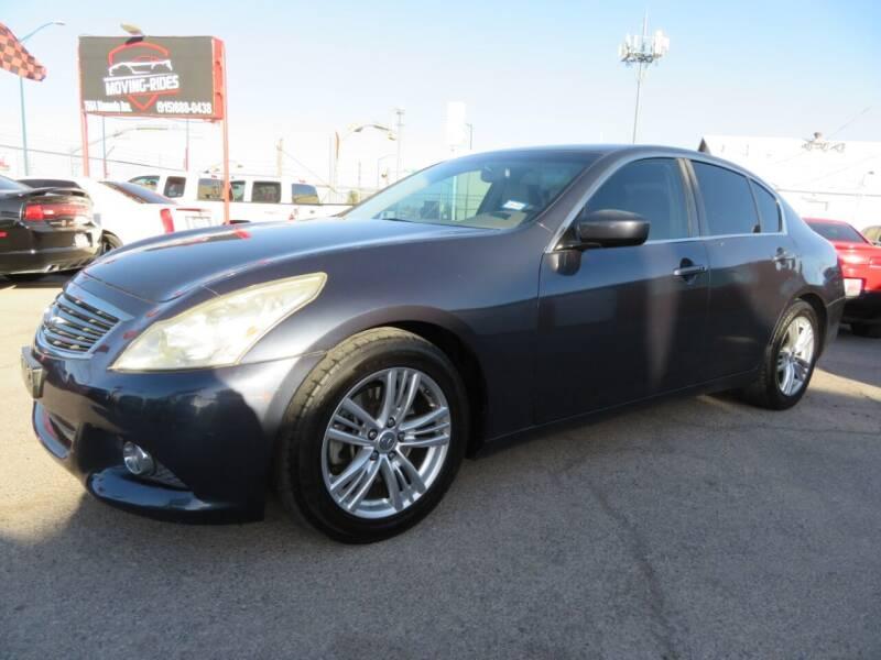 2012 Infiniti G37 Sedan for sale at Moving Rides in El Paso TX