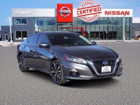2019 Nissan Altima for sale at EMPIRE LAKEWOOD NISSAN in Lakewood CO