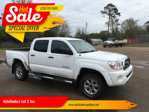 2009 Toyota Tacoma for sale at Autofinders in Gulfport MS