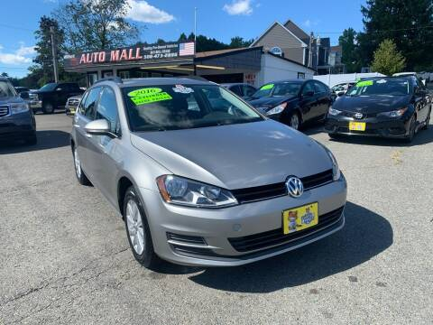 2016 Volkswagen Golf SportWagen for sale at Milford Auto Mall in Milford MA