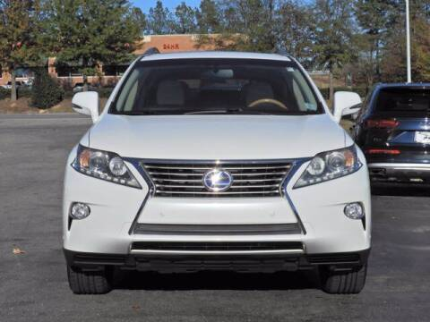 2014 Lexus RX 450h for sale at Auto Finance of Raleigh in Raleigh NC