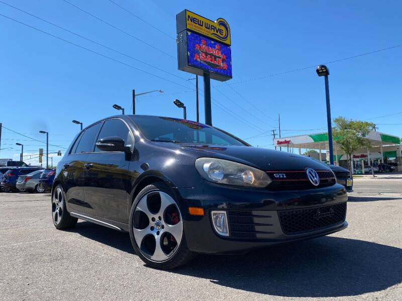 2012 Volkswagen GTI for sale at New Wave Auto Brokers & Sales in Denver CO
