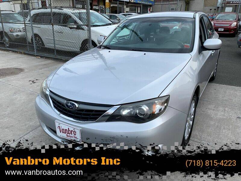 2008 Subaru Impreza for sale at Vanbro Motors Inc in Staten Island NY