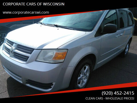 2009 Dodge Grand Caravan for sale at CORPORATE CARS OF WISCONSIN in Sheboygan WI