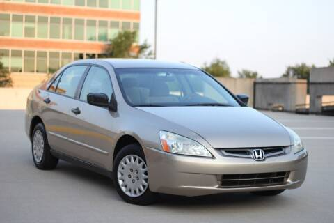 2005 Honda Accord for sale at Car Match in Temple Hills MD
