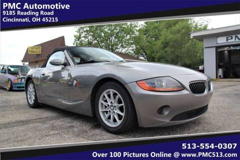 2003 BMW Z4 for sale at PMC Automotive in Cincinnati OH