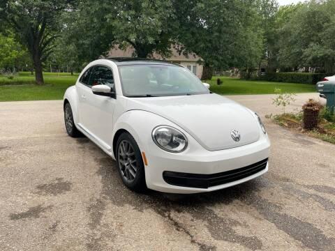 2012 Volkswagen Beetle for sale at CARWIN MOTORS in Katy TX