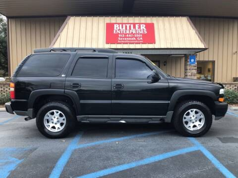 2003 Chevrolet Tahoe for sale at Butler Enterprises in Savannah GA