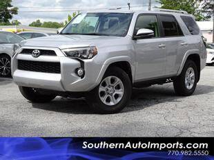 2017 Toyota 4Runner for sale at Used Imports Auto - Southern Auto Imports in Stone Mountain GA
