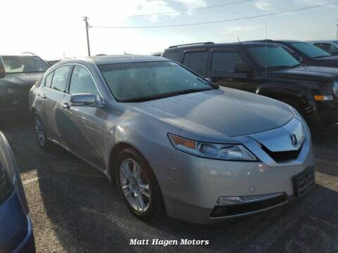 2009 Acura TL for sale at Matt Hagen Motors in Newport NC