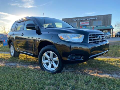 2008 Toyota Highlander for sale at Top Quality Motors & Tire Pros in Ashland MO